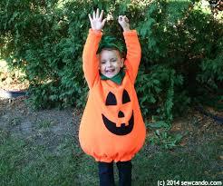 Fat Kid Halloween Costume Sew Cuddly Cute Pumpkin Costume Pattern
