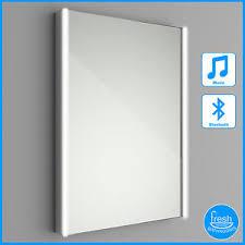 bluetooth bathroom mirror 500x700 illuminated led bathroom mirror bluetooth speaker ebay