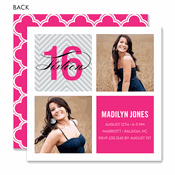 sweet 16 invitations birthday party invitations