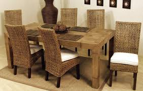 furniture terrific indoor wicker dining chairs pictures