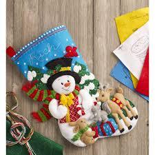 100 seasonal home decorations bucilla seasonal felt shop plaid bucilla seasonal felt stocking kits forest