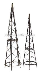 steel garden obelisks exhort me