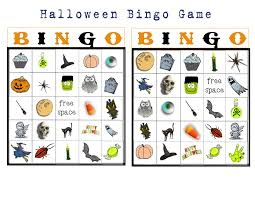 bingo buttercup designs free halloween picture bingo