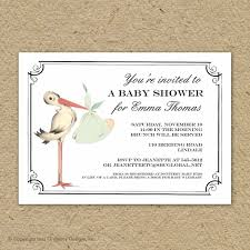 Baby Shower Invitation Cards Templates Blank Baby Shower Invitations For Boys Ebb Onlinecom