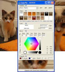 colorpic the desktop colorpicker software