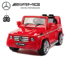 mercedes g55 ride on licensed mercedes g55 amg 12v electric ride on jeep with remote