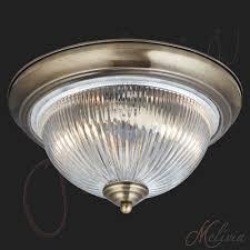 Deckenleuchte Schlafzimmer Messing Deckenlampe Glas Messing Chrom Weiss Kristall Deckenleuchte