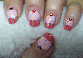 real asian beauty valentine u0027s day cupcakes nail art