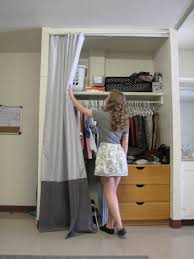 Shower Curtain For Closet Door Closet Curtains For Your Use A Tension Rod Or Velcro 3m