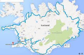 Iceland Map World Iceland Travel Summary With Faroe Islands Wanderlusters