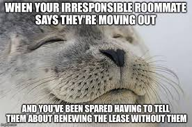 Moving Out Meme - satisfied seal meme imgflip