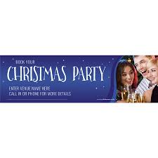bookings for christmas banner xl10 u0027 promote your pub