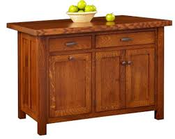 Mission Style Kitchen Island by Kitchen Islands From All Our Amish Craftsman