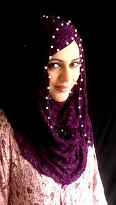 niqab tutorial on dailymotion link to buy pearl lace hijab http www hijabeaze com products