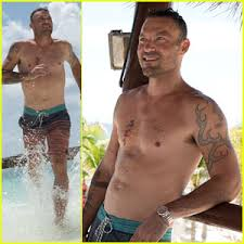 brian austin green goes shirtless in mexico enjoys vacation with