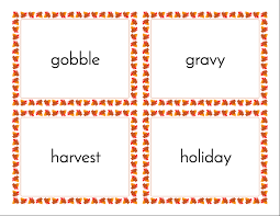 thanksgiving printables and word walls to use now scholastic