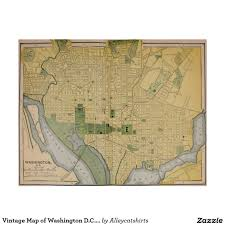 Map Of Washington D by Vintage Map Of Washington D C 1905 Poster Vintage Maps