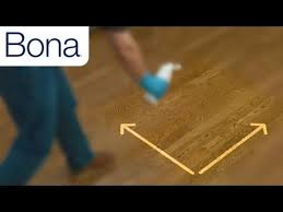 how to remove bona hardwood floor