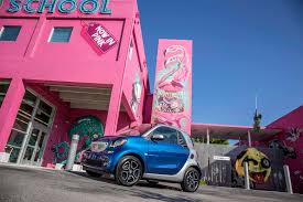 smart car pink 2017 smart fortwo electric drive review smartest of the smarts