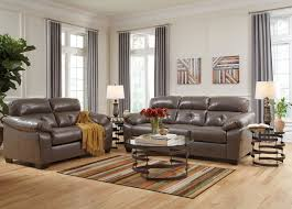 Benchcraft Leather Sofa by Leather Sofas Family Discount Furniture