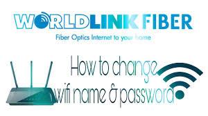 how to change wifi name u0026 password of worldlink fiber net 2017