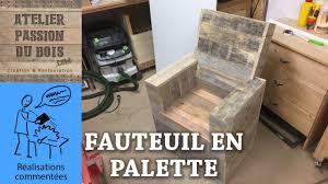Salon De Jardin Palette by Realiser Un Salon De Jardin En Palette Un Fauteuil Youtube