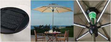 solar powered patio umbrella enhance first impression melissal gill