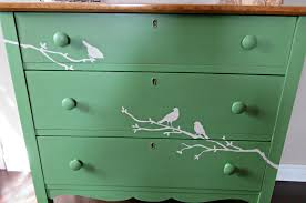 bird cottage dresser guest post country chic paint