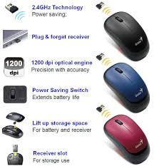 Mouse Wireless Genius Traveler 6000 Genius Wireless Optical Mouse Traveler 6000z In Bangladesh