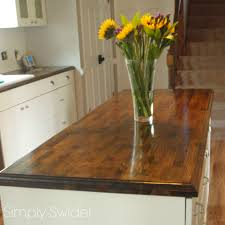 creating custom butcher block countertops simply swider