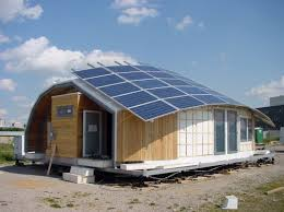SolarPowered Canopy House Features A LiquidCooled Photovoltaic - Solar powered home designs