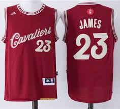 women cleveland cavaliers 23 lebron james red 2015 2016 christmas