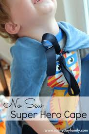no sew super hero cape inspired by the woods sunny day family