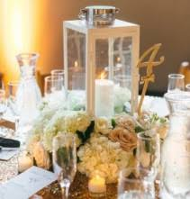white lantern centerpieces wedding flowers from willow branch florist of riverside your