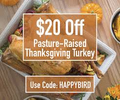 order your thanksgiving pasture raised whole turkey from grass