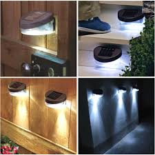 Gutter Solar Lights Solar Garden Wall Light With Brilliant Lights For And 9 Alices On