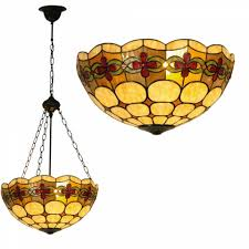 Inverted Pendant Lights by Atlantic Inverted Tiffany Ceiling Pendant Light U2013 Tiffany Lighting