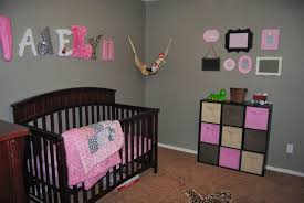 Nursery Decor Pictures by Remarkable Pink And Brown Nursery Ideas Perfect Small Home