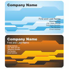 Adobe Illustrator Business Card Template With Bleed Vector For Free Use Corporate Business Card Template