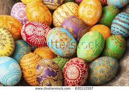 European Easter Egg Decorations by Easter Eastern Europe Traditional Stock Images Royalty Free