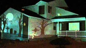 2011 halloween house projection live youtube