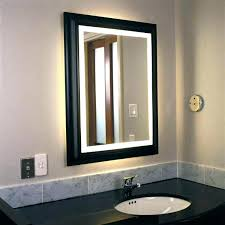Lighted Vanity Mirrors For Bathroom Lighted Vanity Mirrors For Bathroom Mirror With Backlit Decor 19