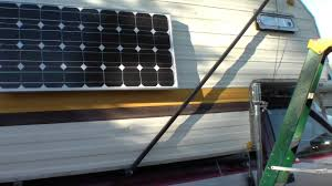 rv solar panel mounting building a window shade out of 90 watt