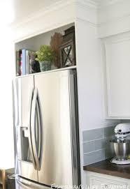 cabinet enclosure for refrigerator home built refrigerator enclosure hometalk
