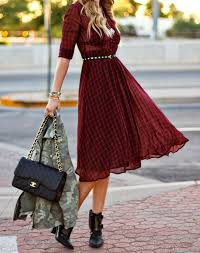 dresses with boots how to wear ankle boots with dresses purewow