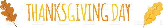 thanksgiving text vector illustration stock vector 619090488