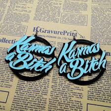 Custom Name Earrings Big Earrings Picture More Detailed Picture About Personal Round
