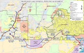 Map Of Utah And Arizona by Better Alternative To The Lake Powell Pipeline Conservation