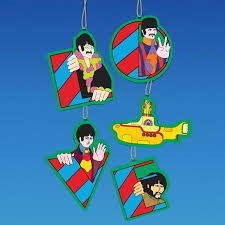buy pack of 6 the beatles yellow submarine blue meanie glass