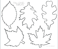 maple leaf template printable pumpkin grape box activity shelter